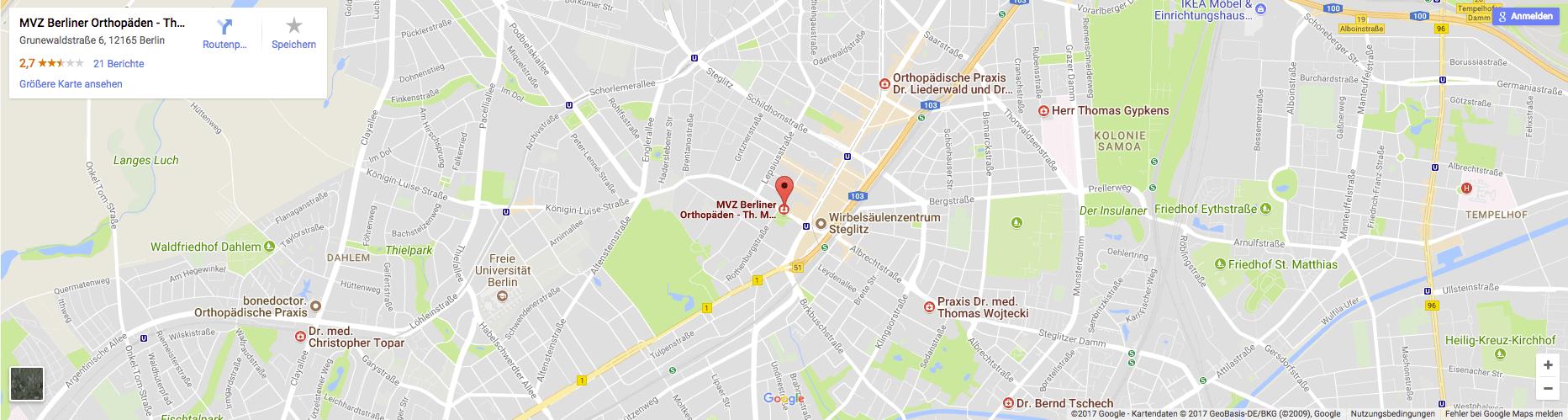 Orthopädie Steglitz